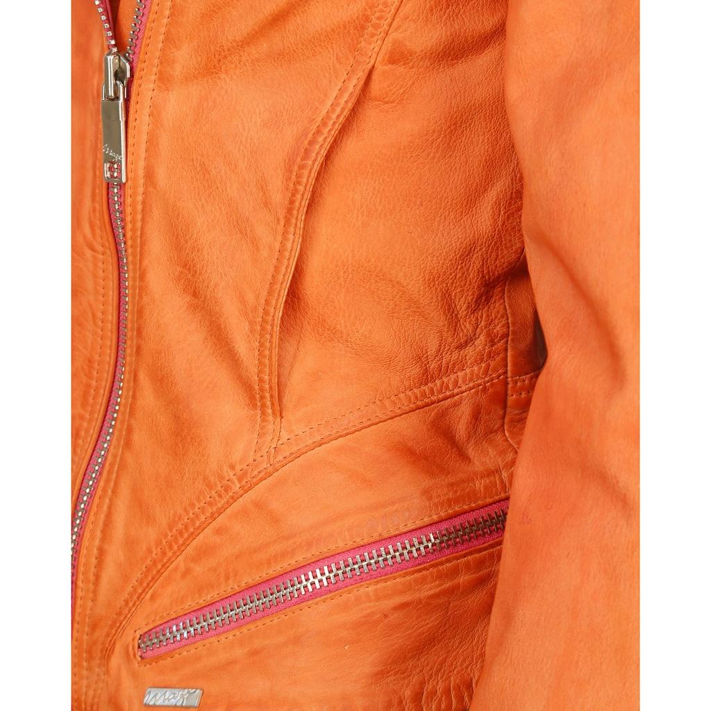 Maze Lederjacke zweifarbig