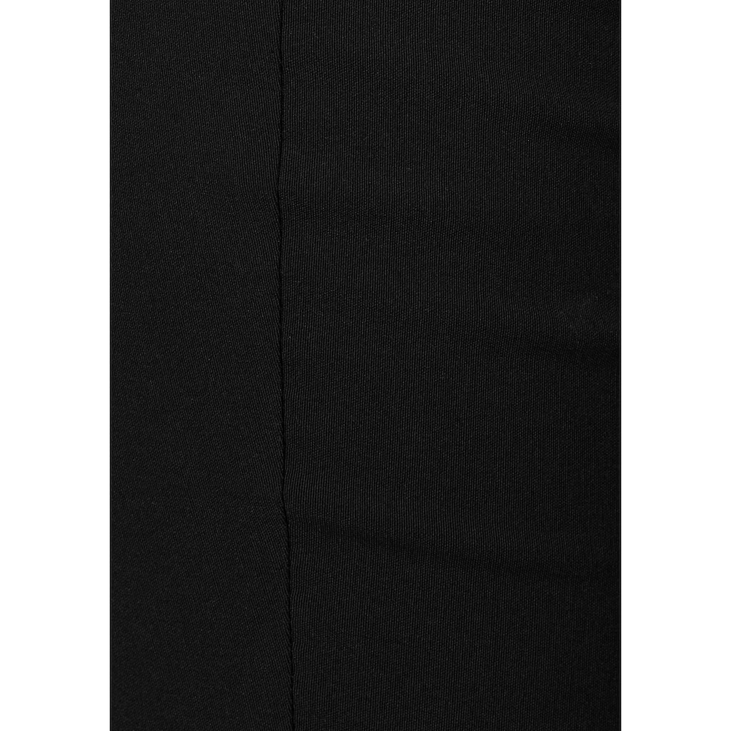 Melrose Anzughose, in Bootcut-Form