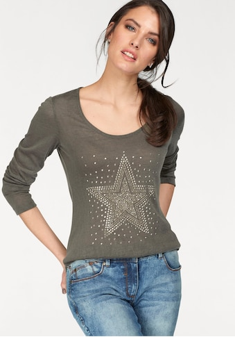 Aniston CASUAL Vokuhila - Pullover kaufen