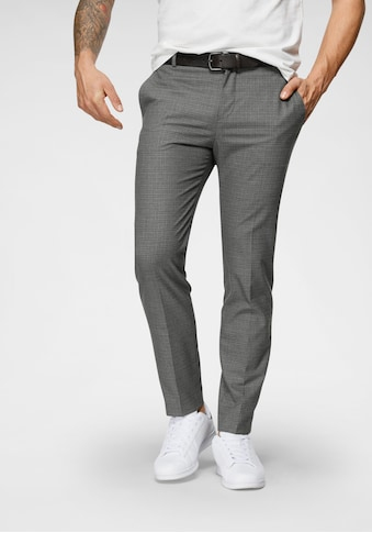 Calvin Klein Stoffhose »CHECK STRETCH TAPERED PANTS« kaufen