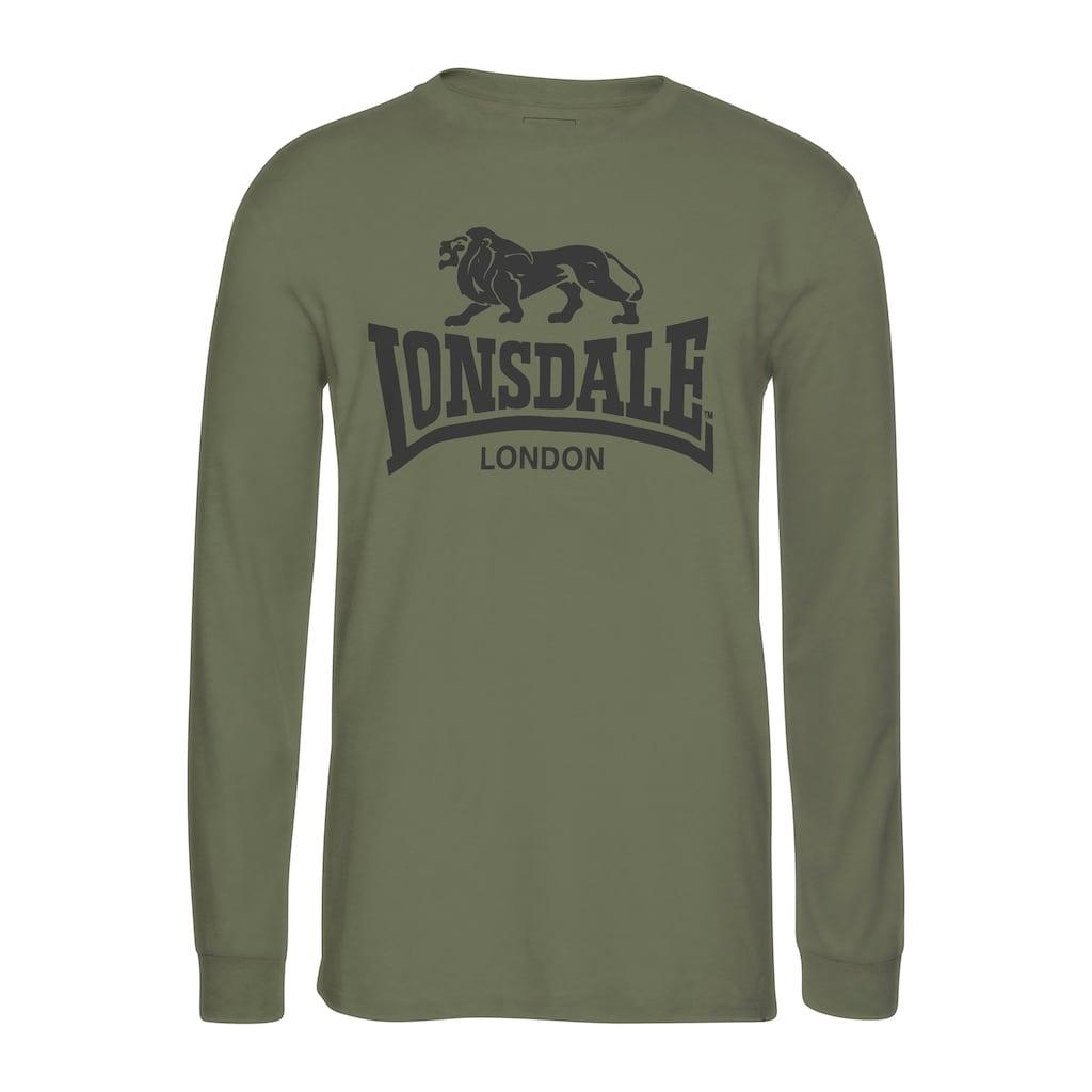 Lonsdale Langarmshirt »AYRSHIRE«