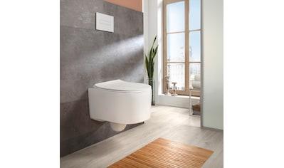 welltime Tiefspül-WC »Trento«, Toilette spülrandlos, inkl. WC-Sitz mit Absenkautomatik... kaufen