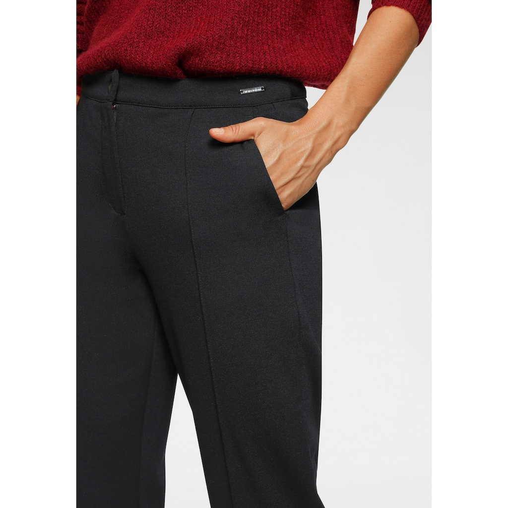 Bruno Banani Jerseyhose, gerade geschnitten, auch in Kurz und Langgrössen