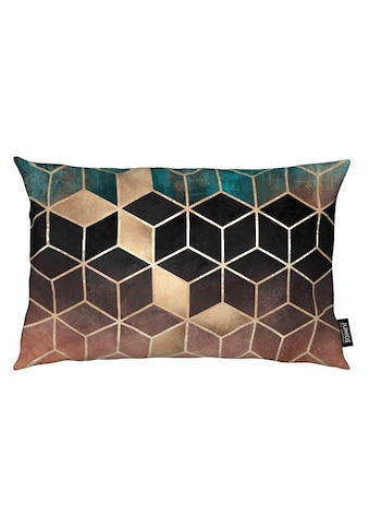 Juniqe Dekokissen »Ombre Dream Cubes«, Weiches, allergikerfreundliches Material kaufen