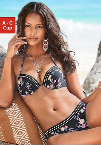 JETTE Push-Up-Bikini, mit goldfarbenenem Lurexfaden kaufen
