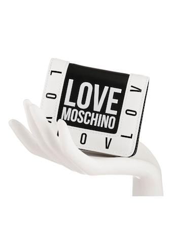 LOVE MOSCHINO Geldbörse, mit schönem Logo Schriftzug kaufen