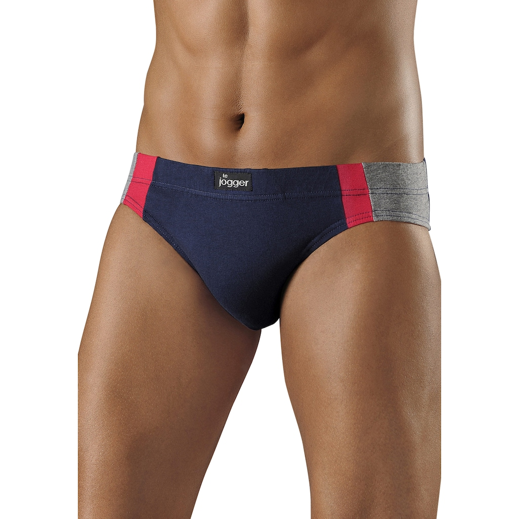 le jogger® Slip, optimale Passform durch Baumwoll-Stretch