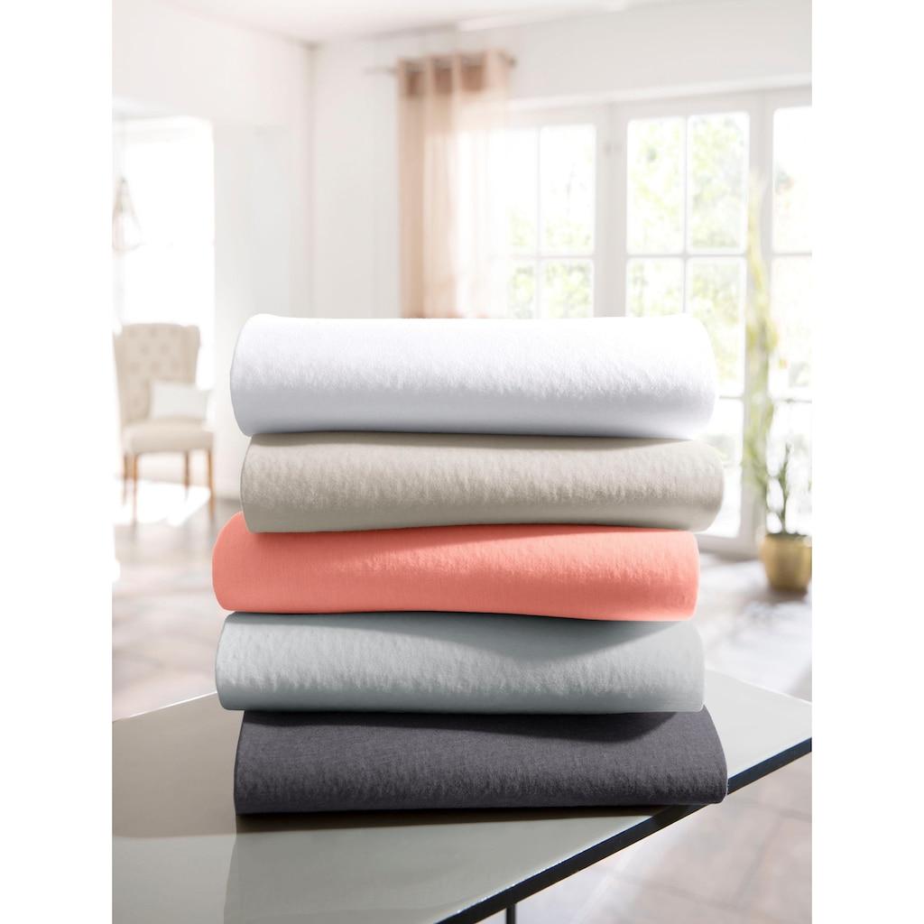 Guido Maria Kretschmer Home&Living Spannbettlaken »Mila«, aus elastischem Edel-Jersey