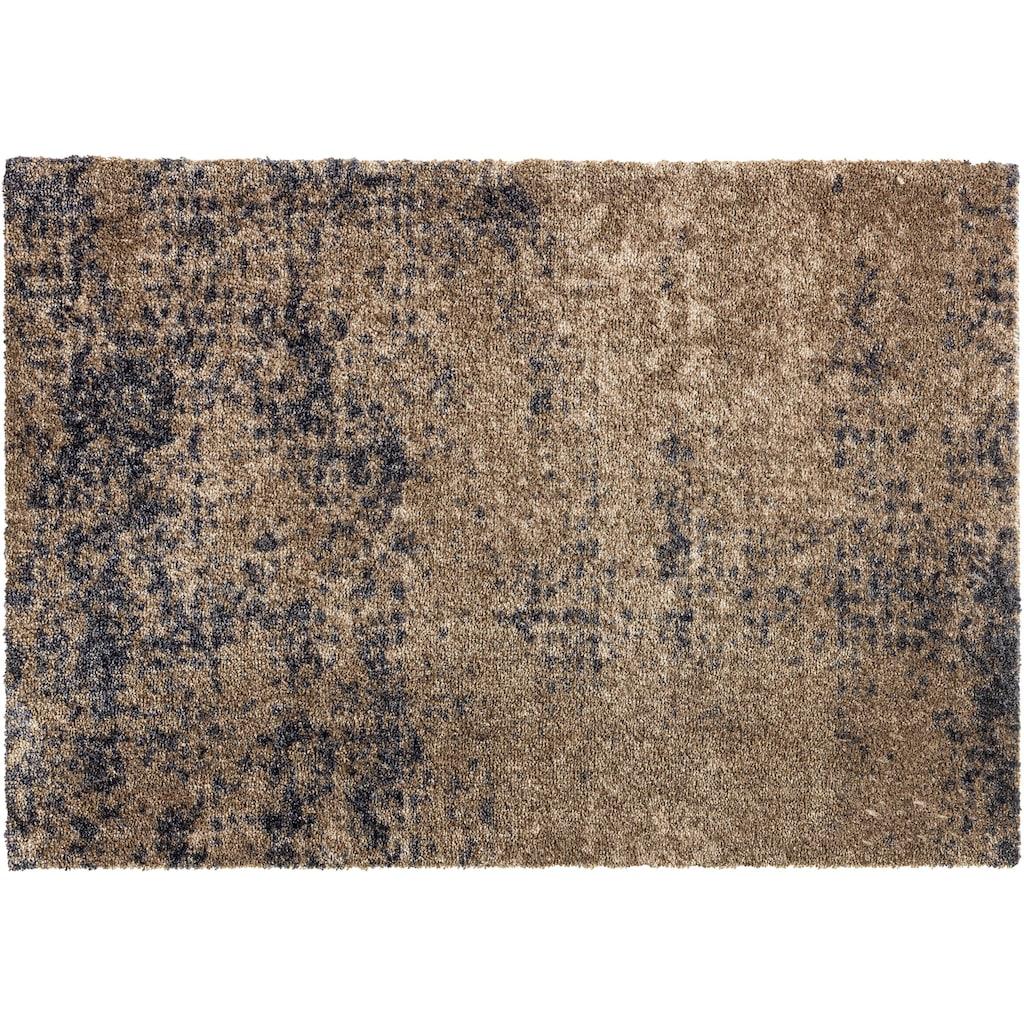 SCHÖNER WOHNEN-Kollektion Fussmatte »Manhattan 002«, rechteckig, 7 mm Höhe, Schmutzfangmatte, waschbar