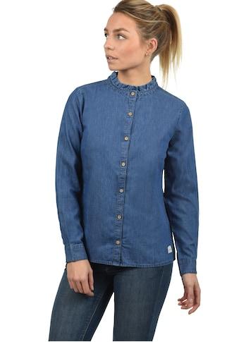 Blendshe Jeansbluse »Dina«, Bluse mit Stehkragen kaufen