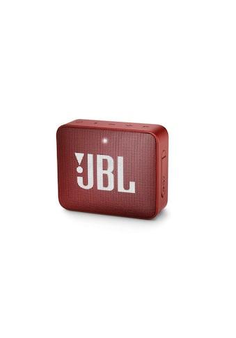 JBL Bluetooth-Lautsprecher »Bluetooth Speaker Go 2 Rot« kaufen