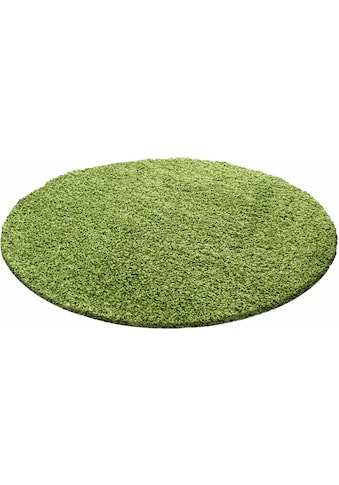 Ayyildiz Hochflor-Teppich »Life Shaggy 1500«, rund, 30 mm Höhe, Wohnzimmer kaufen