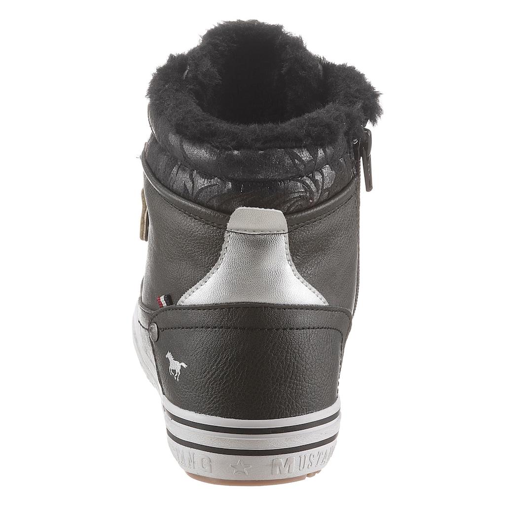 Mustang Shoes Winterboots, mit Reissverschluss