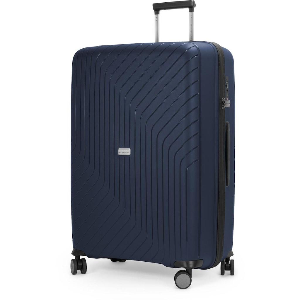 Hauptstadtkoffer Hartschalen-Trolley »TXL, 76 cm, dunkelblau«, 4 Rollen