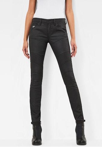 G - Star RAW Skinny - fit - Jeans »5620 Custom Mid Waist Skinny« kaufen
