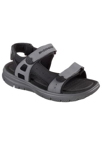 Skechers Sandale »FLEX ADVANTIAGE S UPWELL«, mit drei Klettverschlüssen kaufen