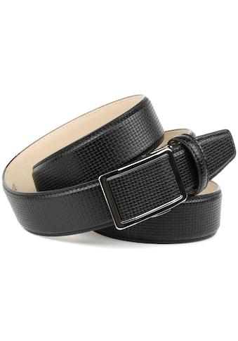 Anthoni Crown Ledergürtel, eleganter Look im Flecht-Design kaufen