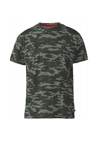 Duke Clothing T-Shirt »Herren Gaston D555 mit Tarnmuster« kaufen