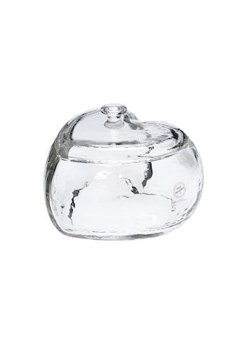 Schale »Glasi Hergiswil Herz Romantica klein, mit Deckel, 19.5 cm« kaufen