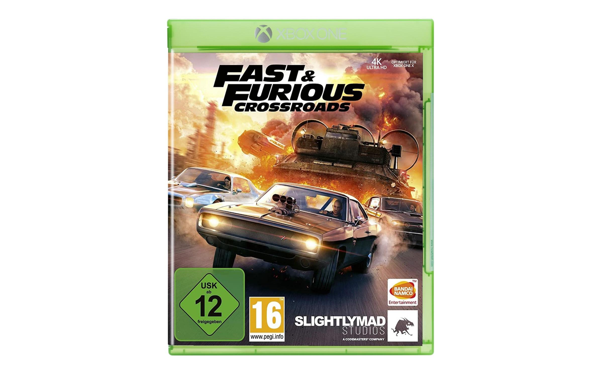 Image of BANDAI NAMCO Spiel »Fast & Furious Crossroads«, Xbox One