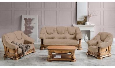 Premium collection by Home affaire Polstergarnitur »Grizzly«, (Set, 3 tlg.) kaufen
