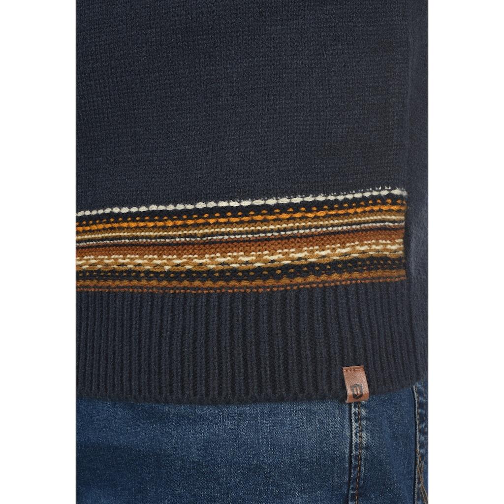 Indicode Strickpullover »Lurdes«, Strickpulli aus Grobstrick