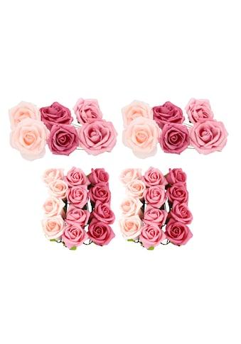 I.GE.A. Kunstblume »Pick Soft-Rosen«, 36er Set kaufen
