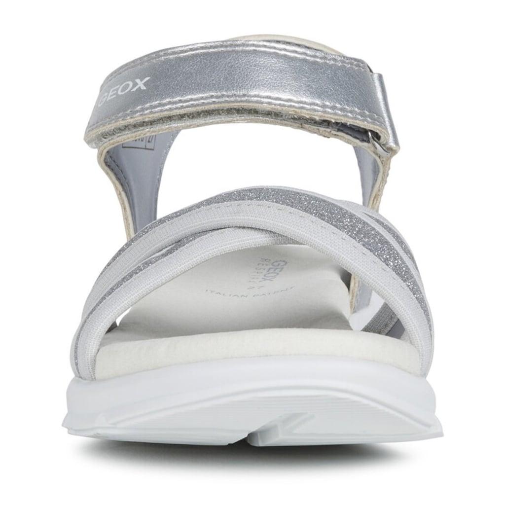 Geox Kids Sandale »Sukie«, in cooler Glitzer-Optik