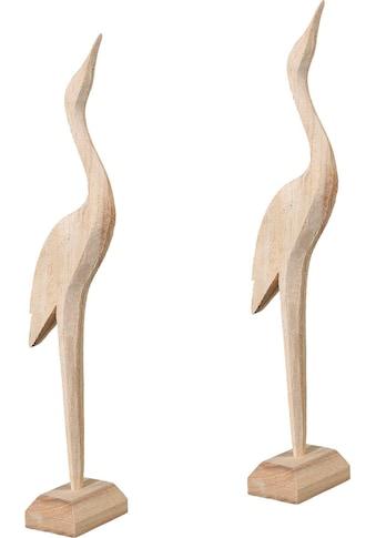 Creativ home Dekofigur »Natura Carved«, 2er Set kaufen