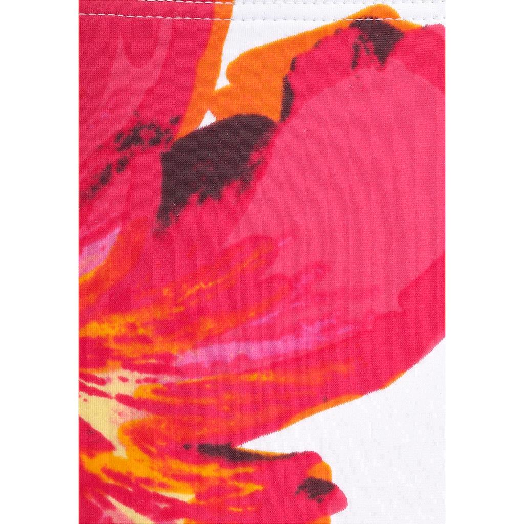 LASCANA Bügel-Bikini, mit plakativem Blütenprint