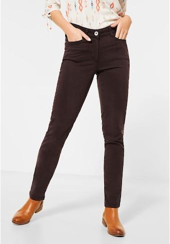 Cecil 5-Pocket-Hose, im elastischen Materialmix kaufen