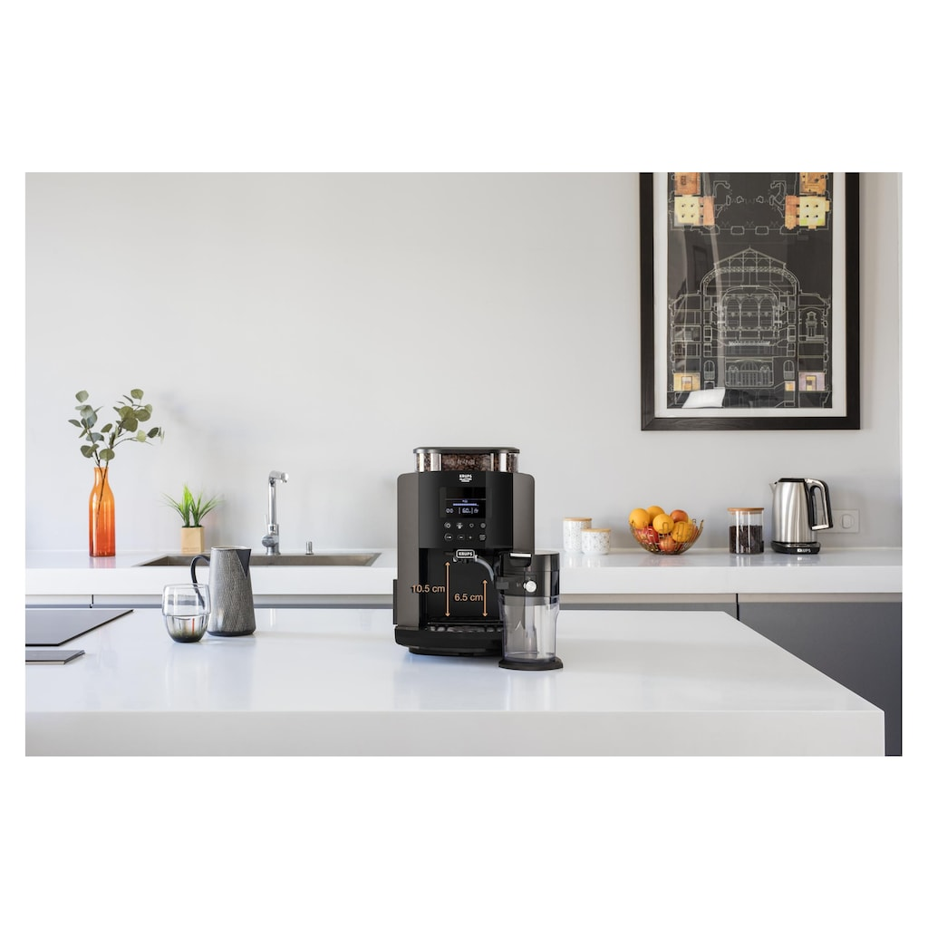 Krups Kaffeevollautomat »ARABICA LATTE EA819«