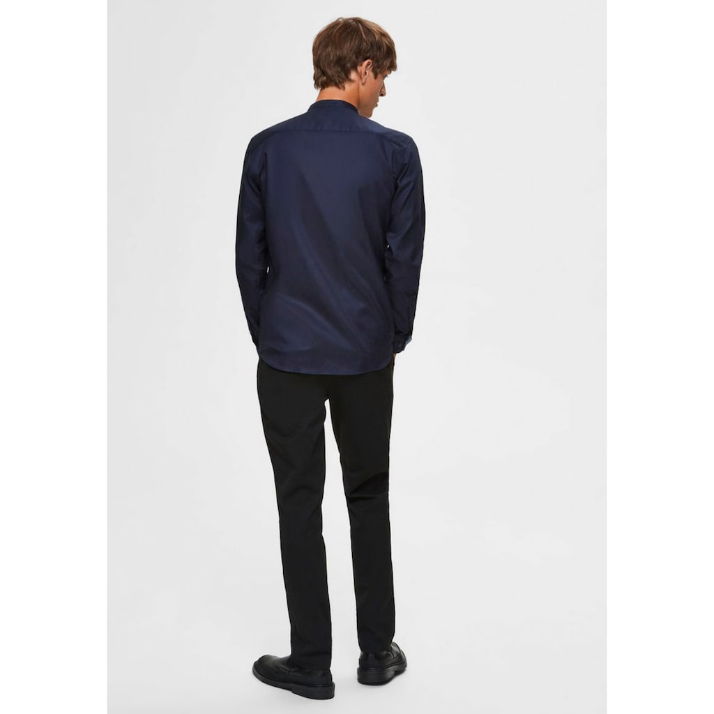 SELECTED HOMME Langarmhemd »SLIM MARK SHIRT«