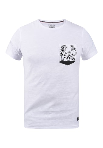 Blend Print-Shirt »20709797«, T-Shirt mit bedruckter Brusttasche kaufen