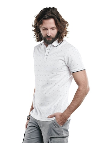 emilio adani Poloshirt, mit Minimalprint und Kontrast-Details kaufen