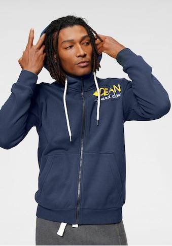 Ocean Sportswear Kapuzensweatjacke, Innen weich angeraut kaufen