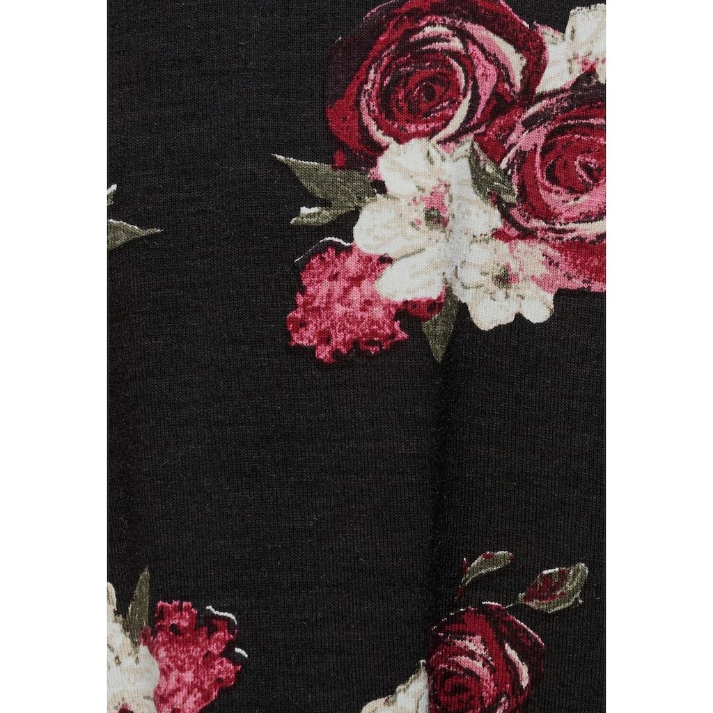 AJC Sommerkleid, in Skater-Style mit Blumenmuster