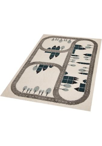 Kinderteppich, »Country Road«, Zala Living, rechteckig, Höhe 18 mm, maschinell gewebt kaufen