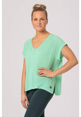 SUPER.NATURAL T-Shirt »W JONSER TEE«, pflegeleichter Merino-Materialmix kaufen