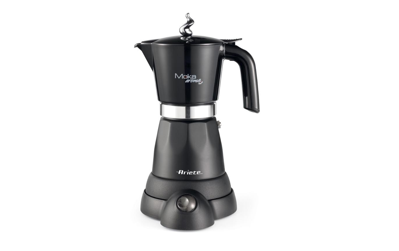 Image of Ariete Espressokocher, »ARI 1368 Schwarz, 6 Tassen«