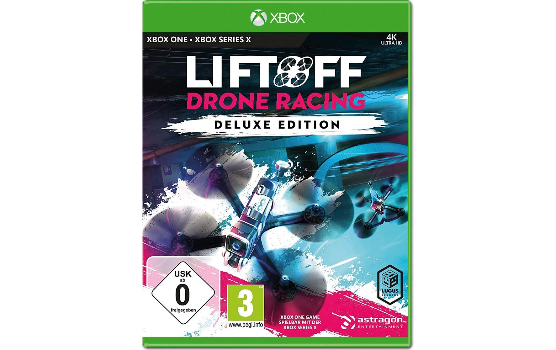 Image of Astragon Spiel »LiftOff: Drone Racing Deluxe Edition«, PlayStation 4, Special Edition