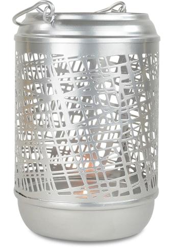 Laterne, aus Metall, Höhe ca. 18 cm kaufen