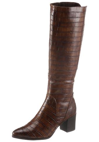 MARCO TOZZI Stiefel, im modischen Kroko-Look kaufen