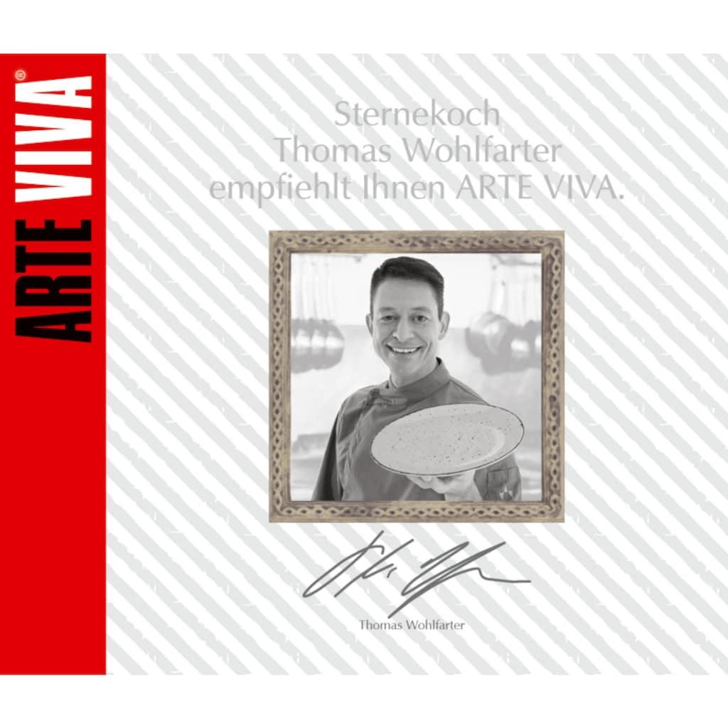 ARTE VIVA Kombiservice »Puro«, (Set, 32 tlg.), perlweiss, von Sternekoch Thomas Wohlfarter empfohlen
