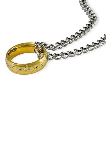 Der Herr der Ringe Kette mit Anhänger »Der Eine Ring an Kette, 10004025«, Made in Germany kaufen