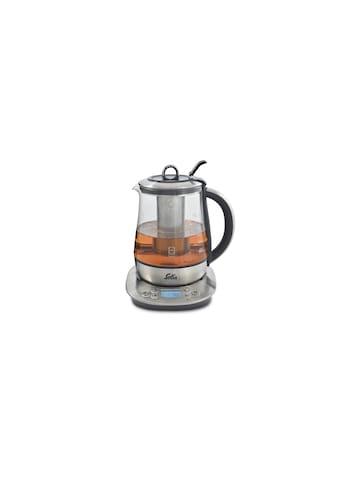 Tee -  und Wasserkocher, Solis, »Digital 5515 Silberfarben, Transparent« kaufen