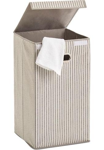 Zeller Present Wäschesortierer »Stripes«, Vlies, beige kaufen