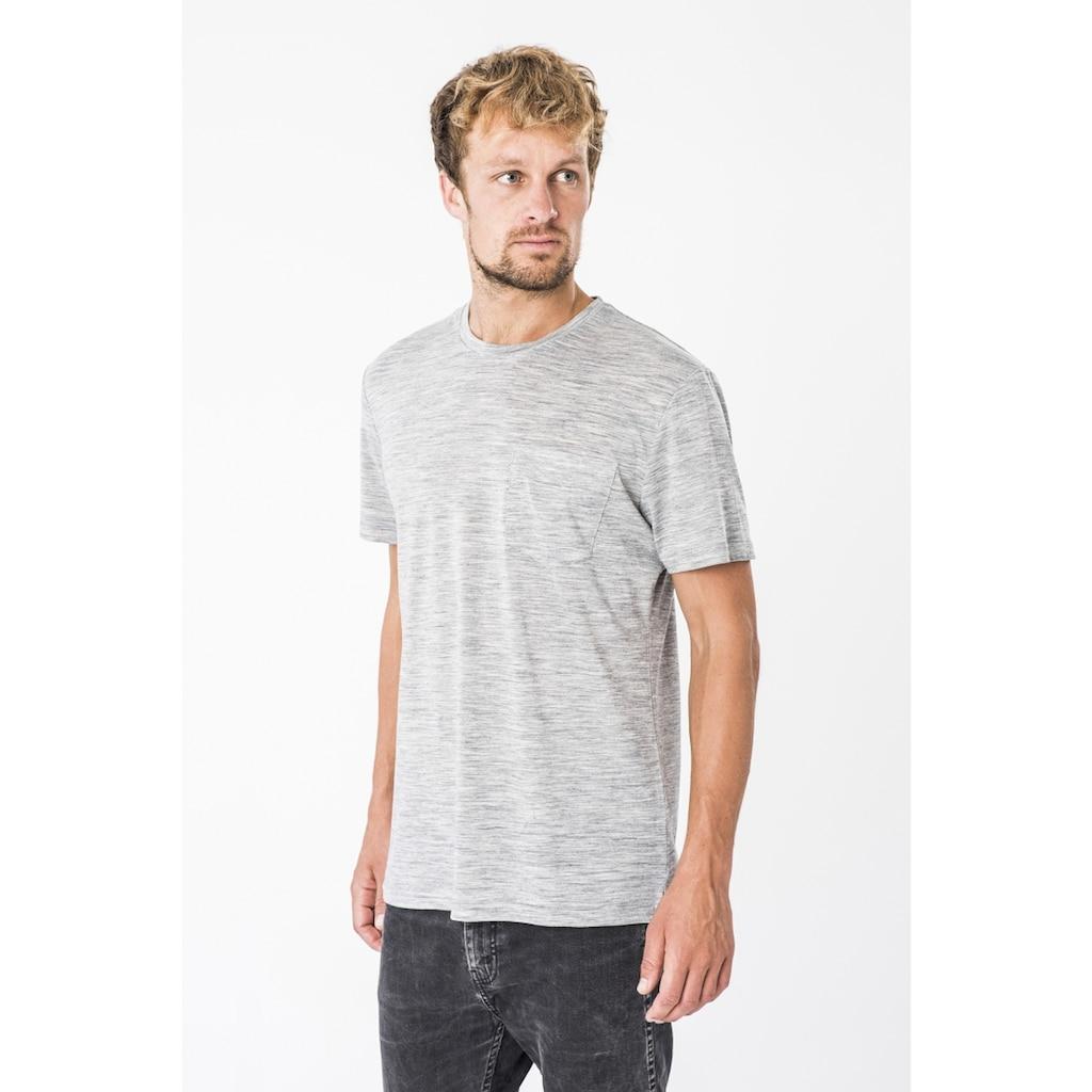 SUPER.NATURAL T-Shirt »M CITY TEE«, atmungsaktiver Merino-Materialmix