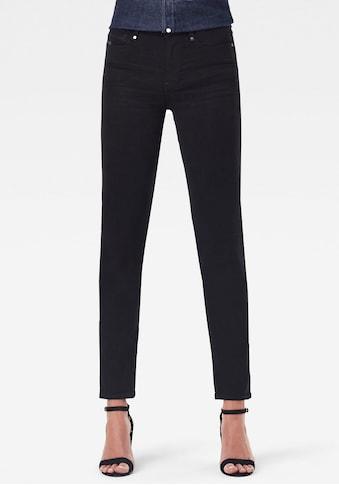 G-Star RAW Straight-Jeans »Noxer Straight«, mit Reissverschlusstasche über der Gesässtasche hinten kaufen