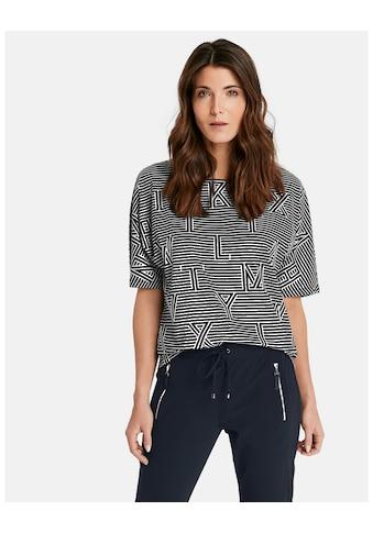 GERRY WEBER T - Shirt 3/4 Arm »1/2 Arm Shirt mit Mustermix« kaufen